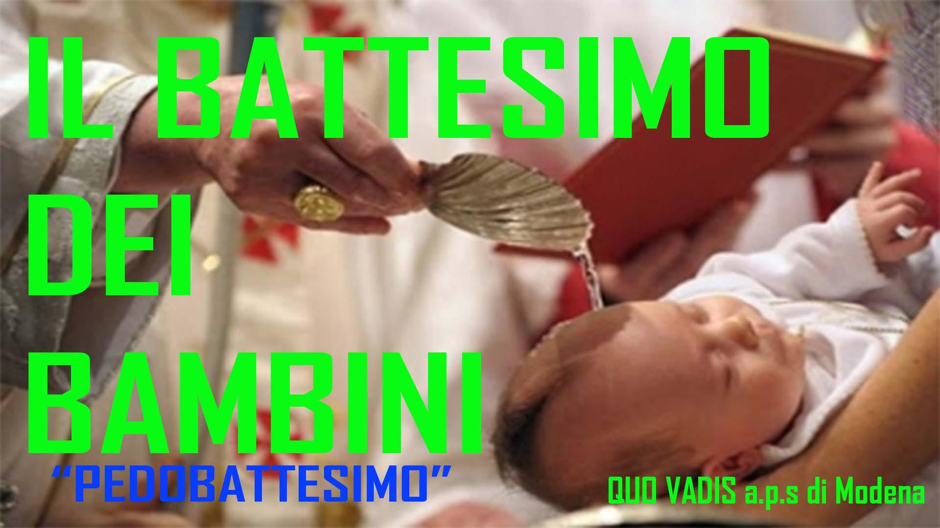 BATTESIMO DEI BAMBINI