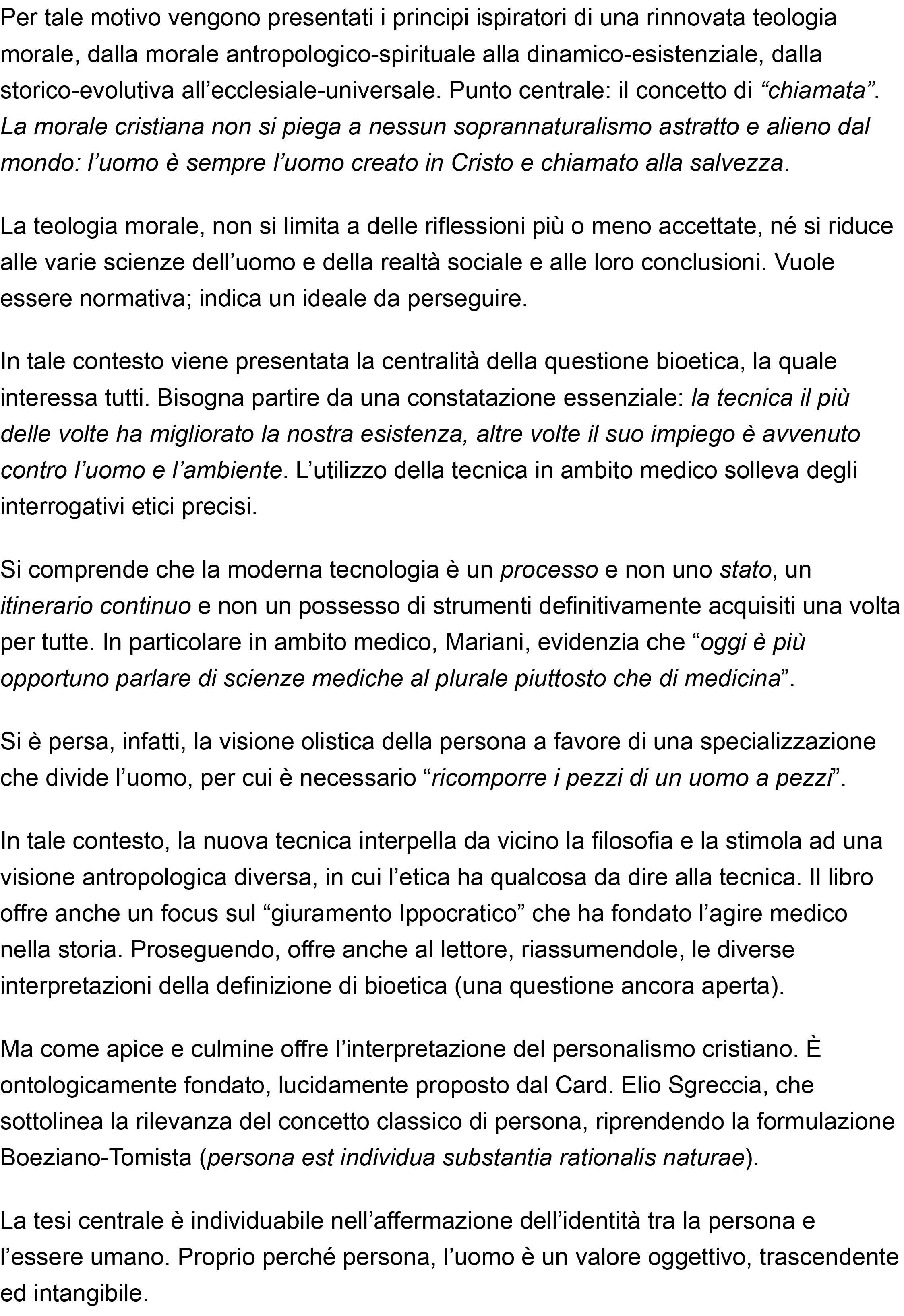 La teologia morale ha qualcosa da dire alla bioetica… – ZENIT – Italiano-2