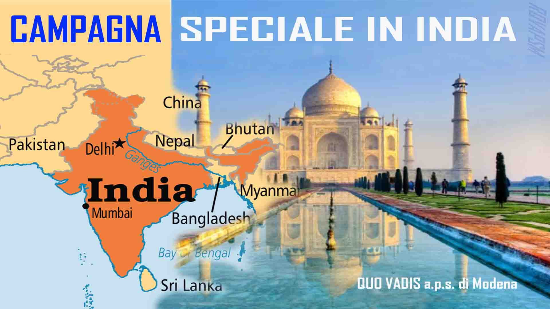 CAMPAGNA SPECIALE IN INDIA