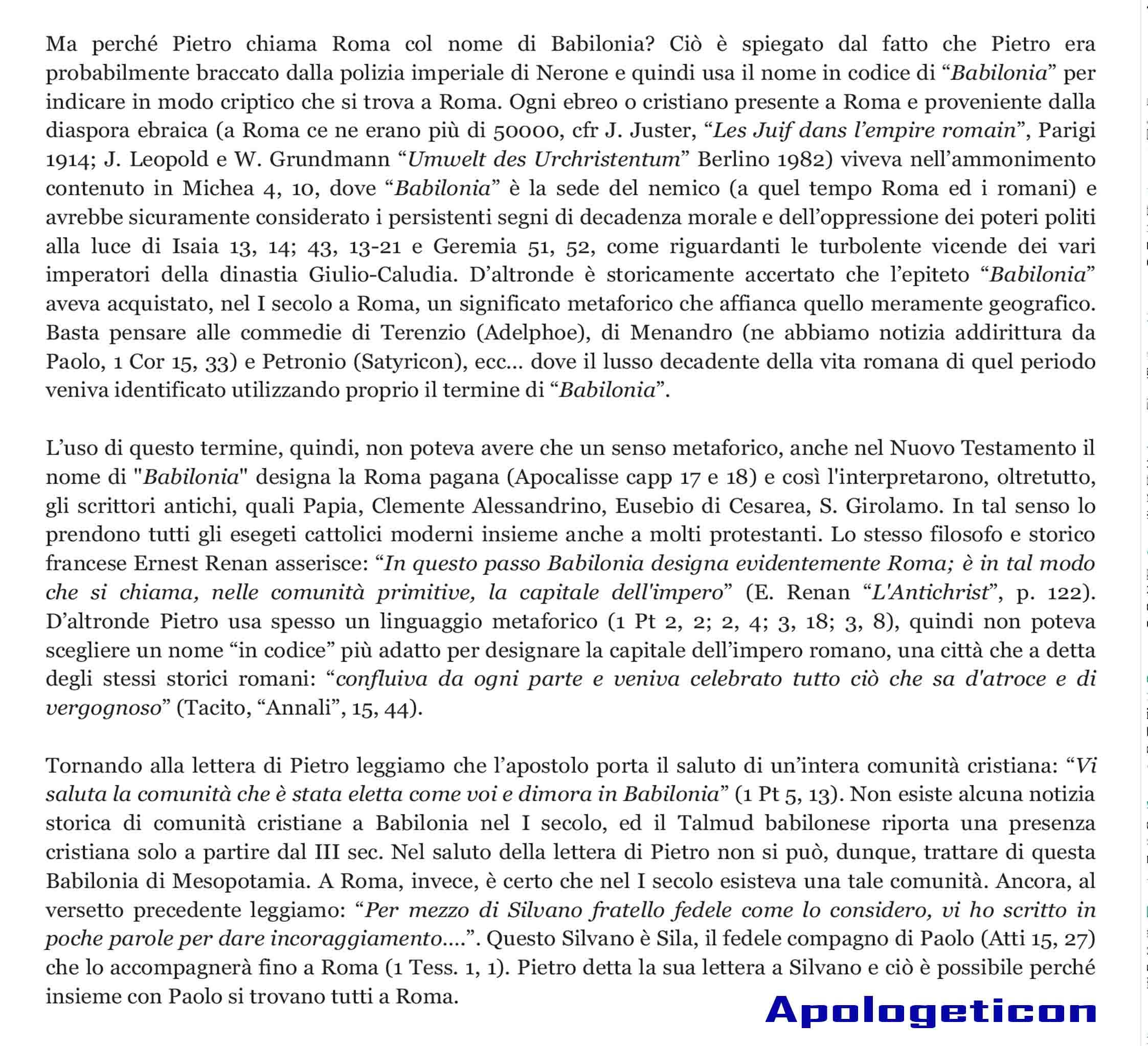 Apologeticon, il blog di Luis_ Babilonia o Roma_-2